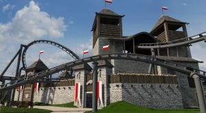 Park rozrywki jak słowiańska wioska
