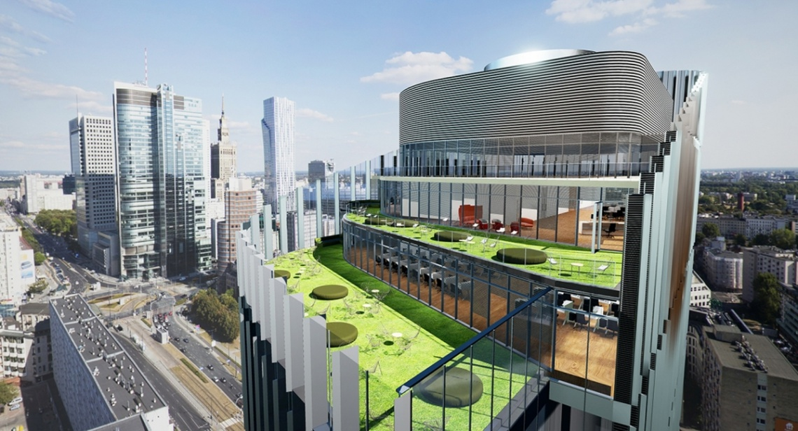 Mennica Legacy Tower zaskoczy dynamiczną fasadą
