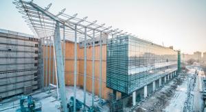 Wyjątkowa fasada Galerii Północnej w Warszawie