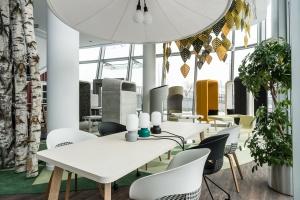 Zobacz nowy showroom Kinnarps w ICE Kraków