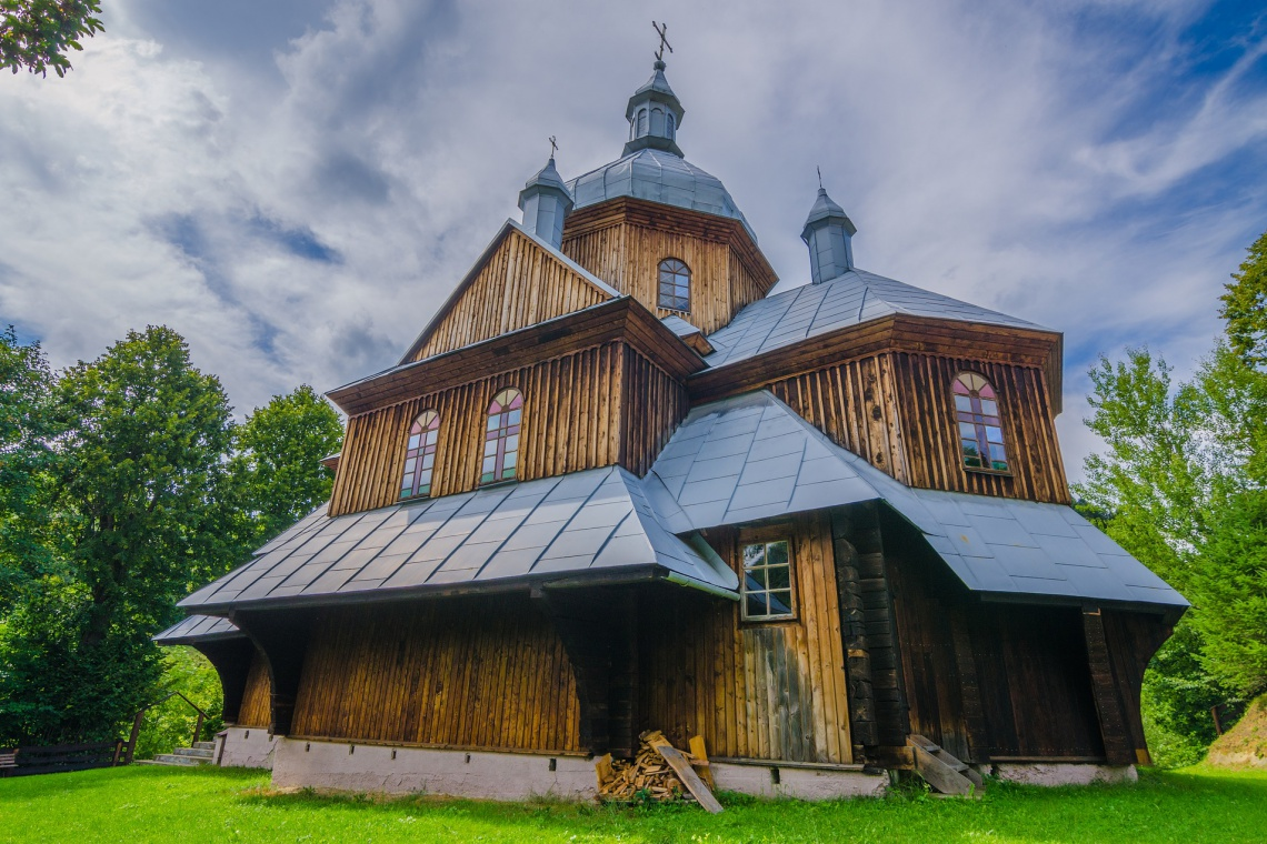 Zobacz, jak wyglądają huculskie cerkwie