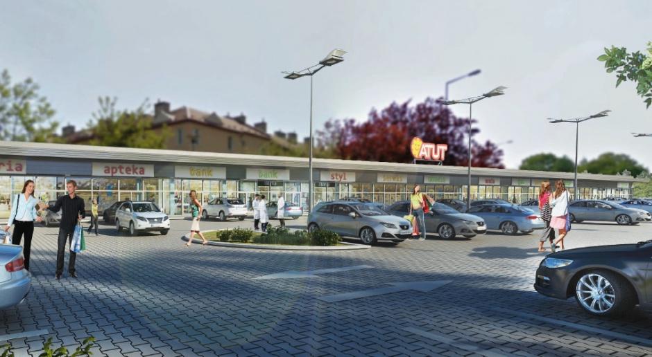 Krakowskie centrum handlowe projektu B2 Studio na starcie