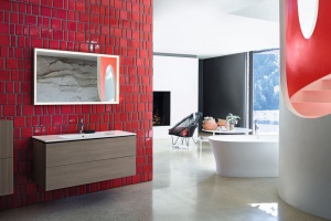 Christian Werner zaprojektował meble łazienkowe