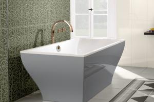 Romantyczny glamour w łazience