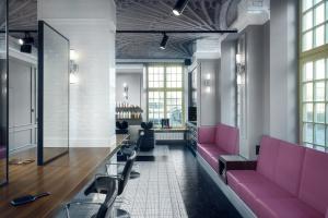 Salon fryzjerski w starej kamienicy. Zobacz unikalną aranżację w Gdańsku