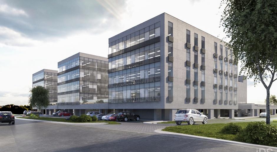 Przyjazne biura od IDS Architekci. Szczecin Business Plaza w budowie