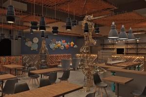 Designerska restauracja w warszawskiej galerii