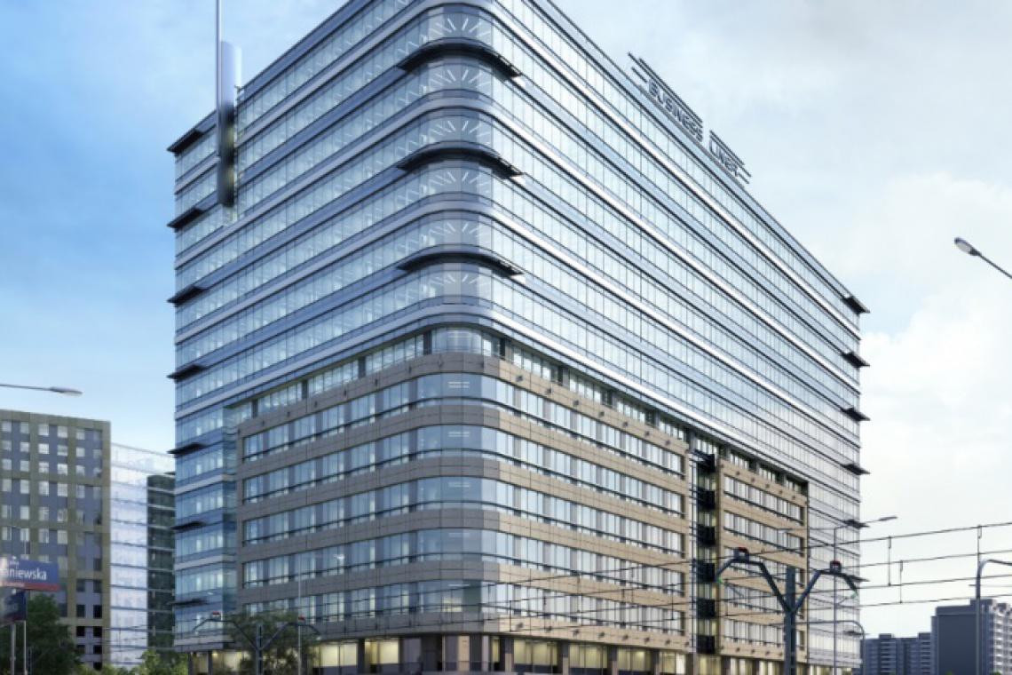 Nowy biurowiec w Warszawie wychodzi z ziemi
