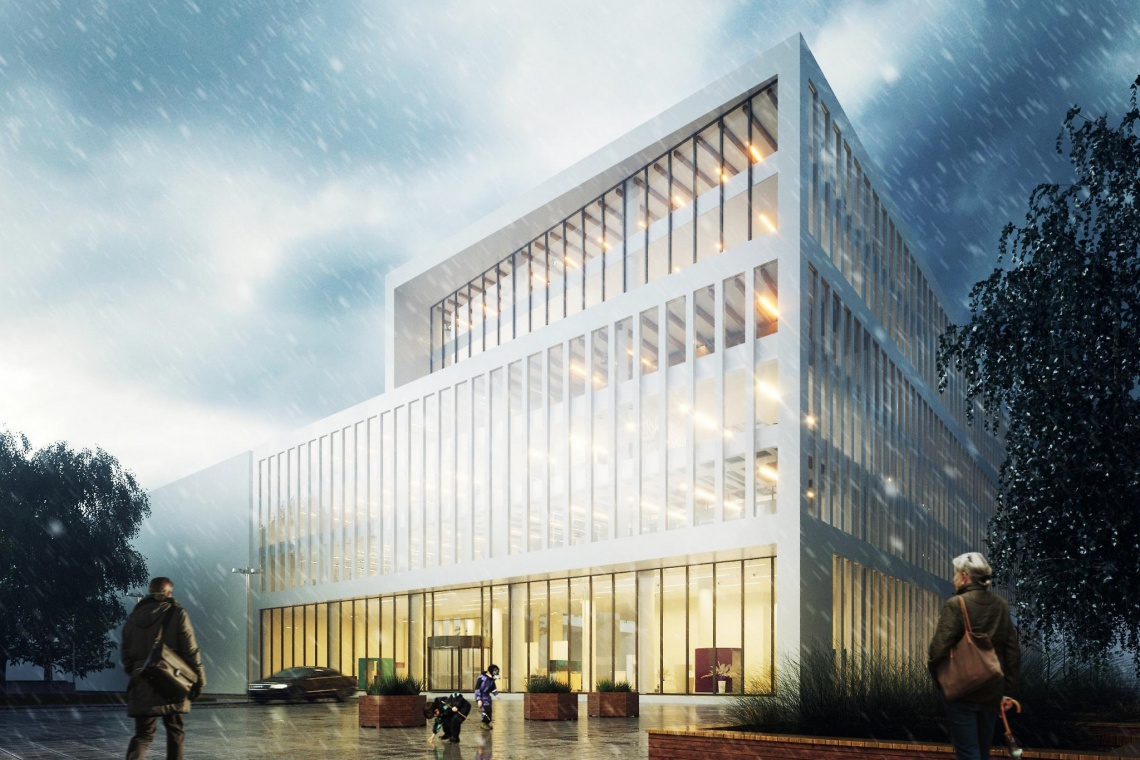 W Kielcach powstanie imponujący biurowiec. To projekt APA Wojciechowski
