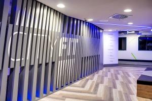 W klubie fitness liczy się każdy detal. Nowoczesne wnętrze w CityFit Bydgoszcz