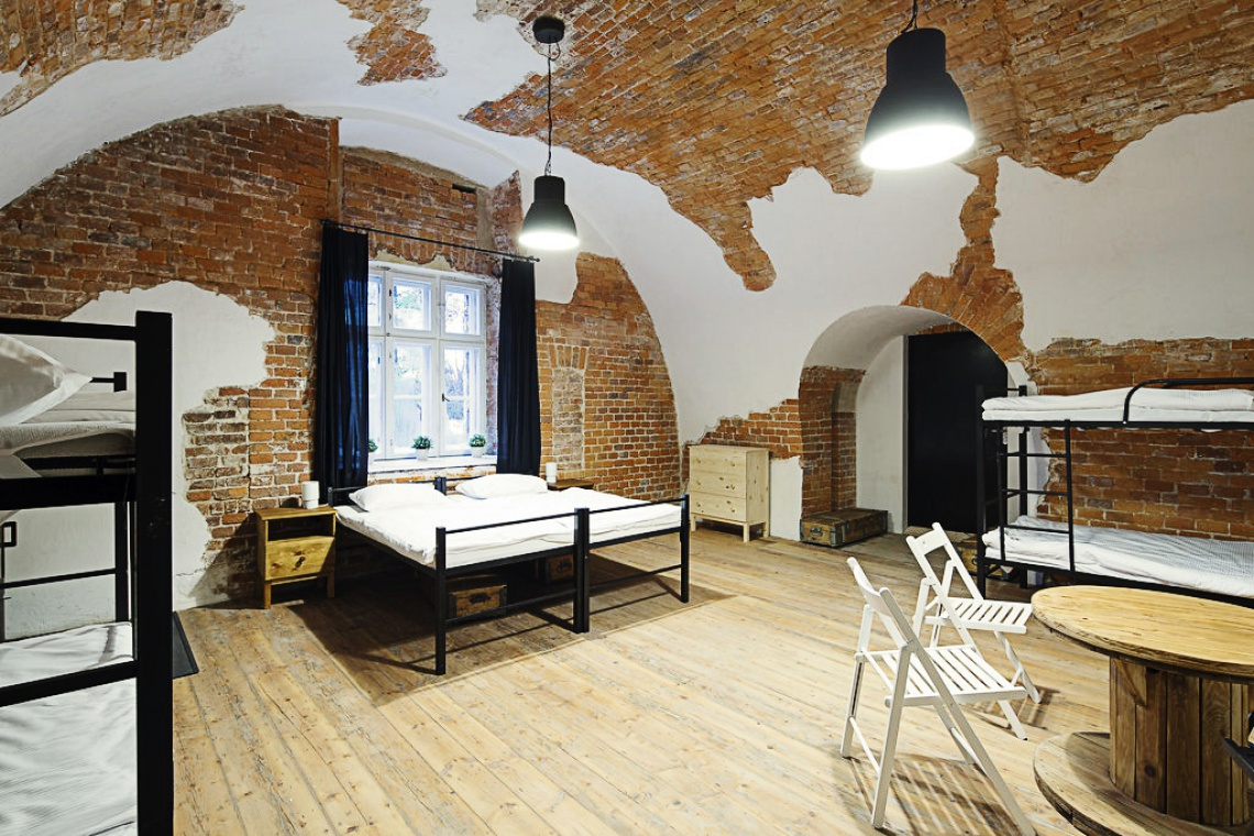 Designerski hostel w wyjątkowym miejscu na mapie Krakowa