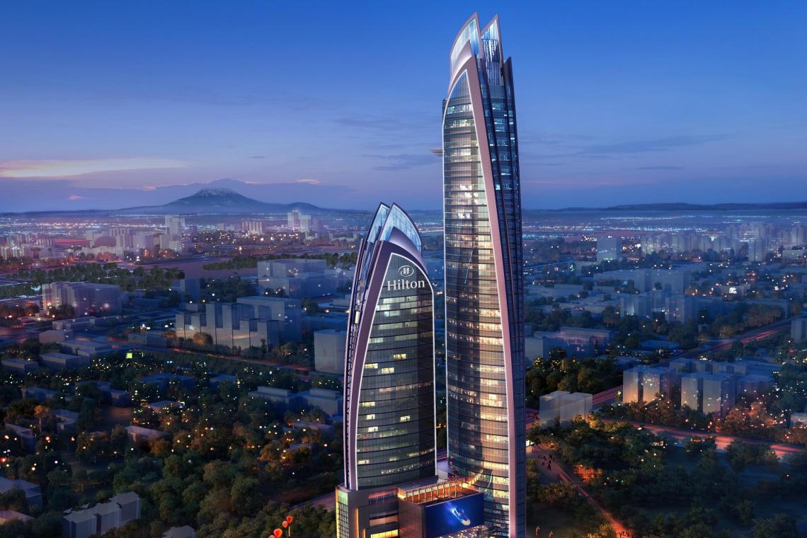 Dach Afryki - będzie designerski i wielofunkcyjny