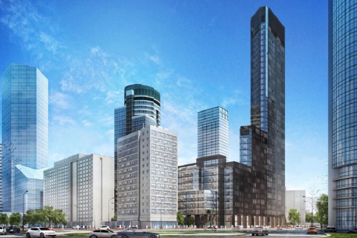 Nowa wieża w Warszawie