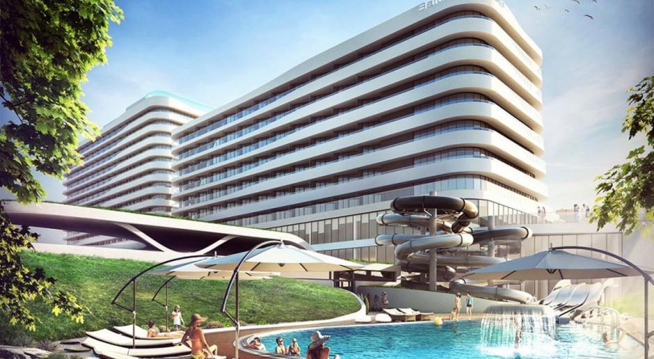 Radisson Blu Resort. Trwają prace nad aranżacją apartamentów