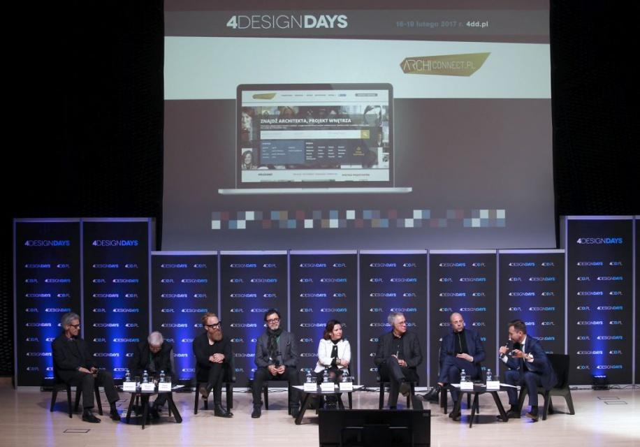 Rizzi, Loegler, Schuessler, Reinders i Łukasik, czyli gwiazdy  architektury na 4 Design Days. Zobacz film