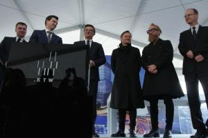 .KTW w centrum Katowic z kamieniem węgielnym. To projekt Medusa Group
