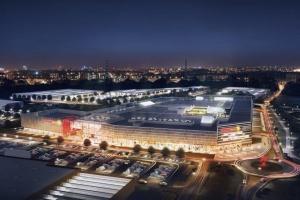 Budowa Gemini Park Tychy projektu Vide Studio przyspiesza