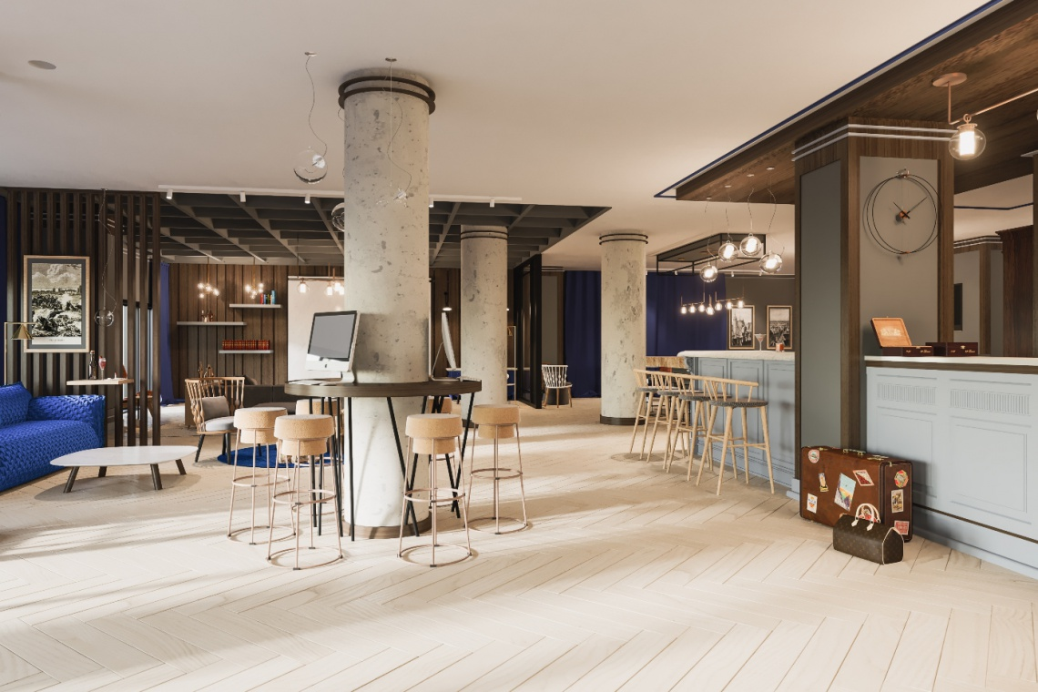 Hotel Number One to połączenie tego, co najlepsze z dorobku polskich architektów