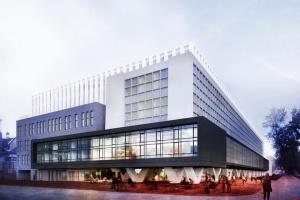 Nowoczesny akademik według Grupy 5 Architekci