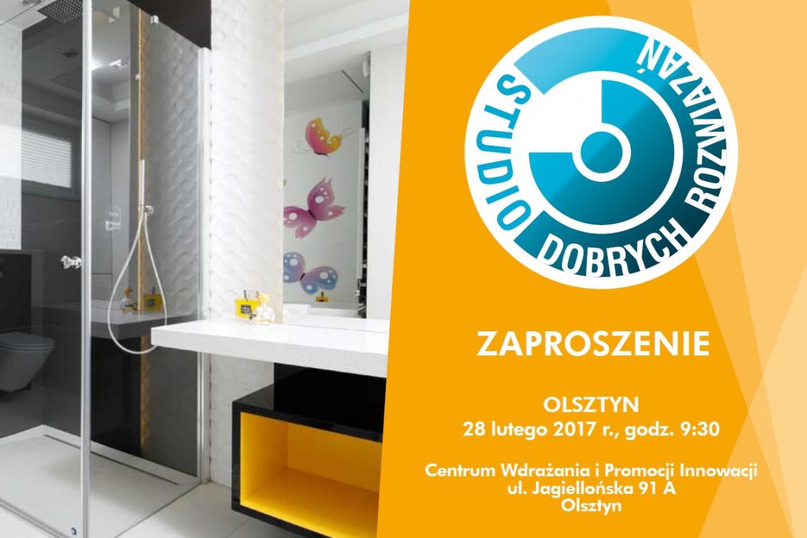 Studio Dobrych Rozwiązań - widzimy się za tydzień w Olsztynie!