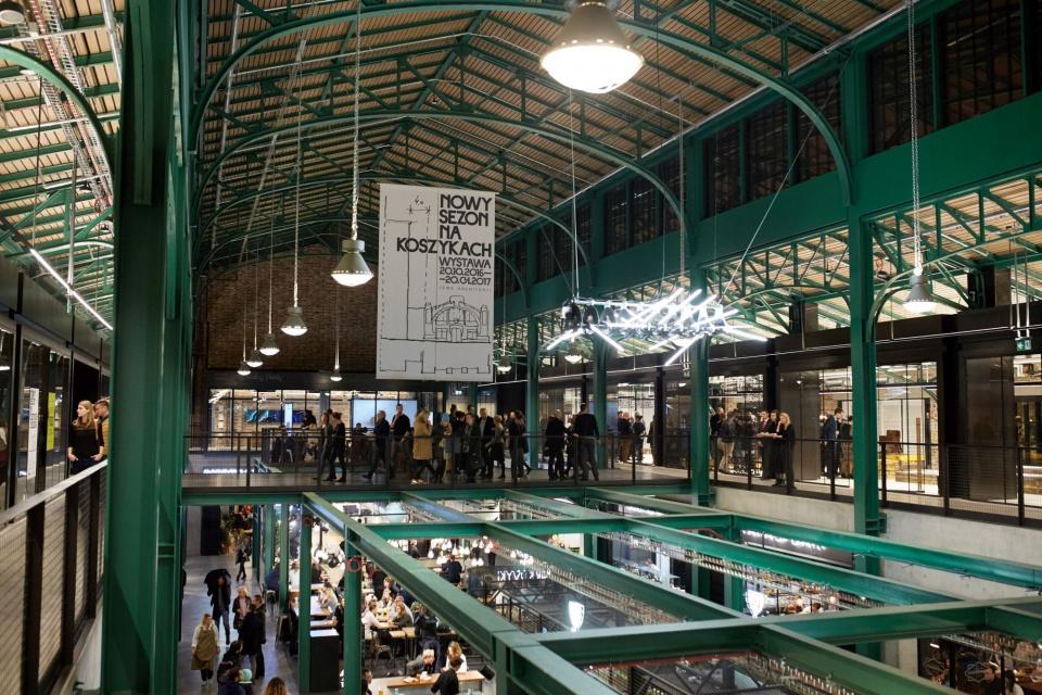 Architekci z Medusa Group i Restauro oprowadzą po nowej Hali Koszyki