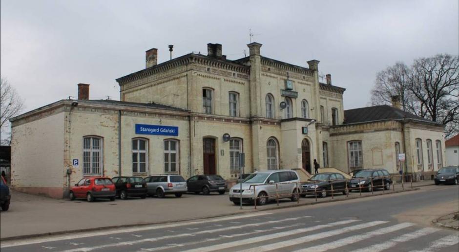 Dworzec i ulice Starówki w Starogardzie Gdańskim do przebudowy