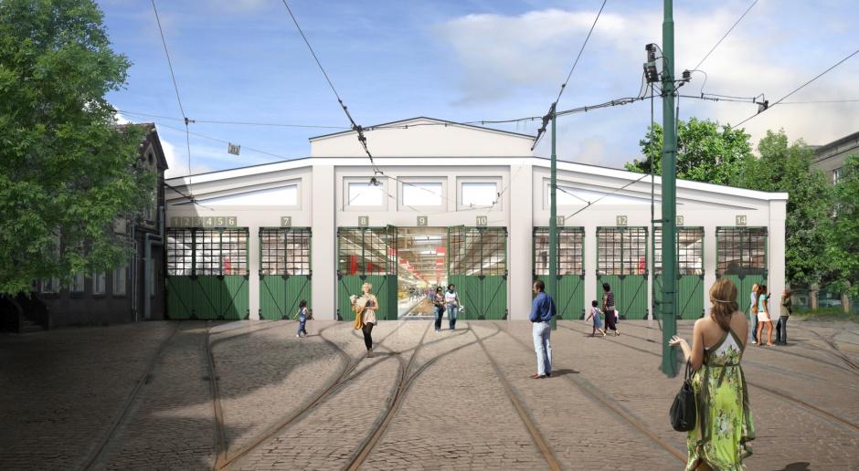 Zajezdnia Poznań - niezwykły projekt spod kreski Sipińskich