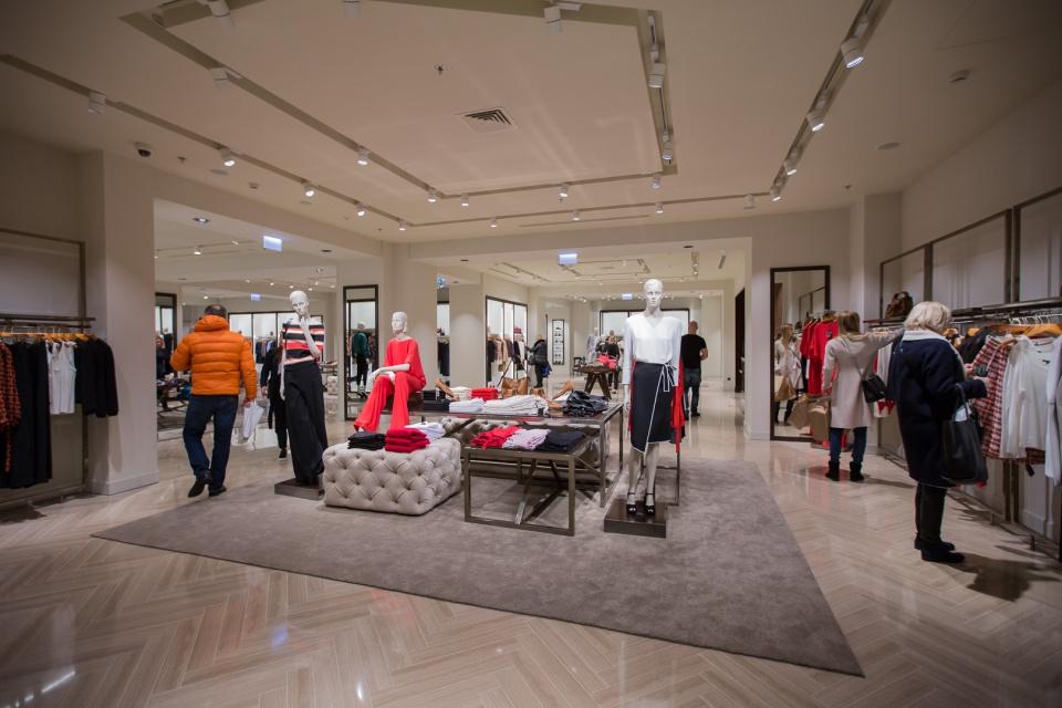 09bc0610be0ea Tak wygląda największy w Polsce sklep Massimo Dutti - Design