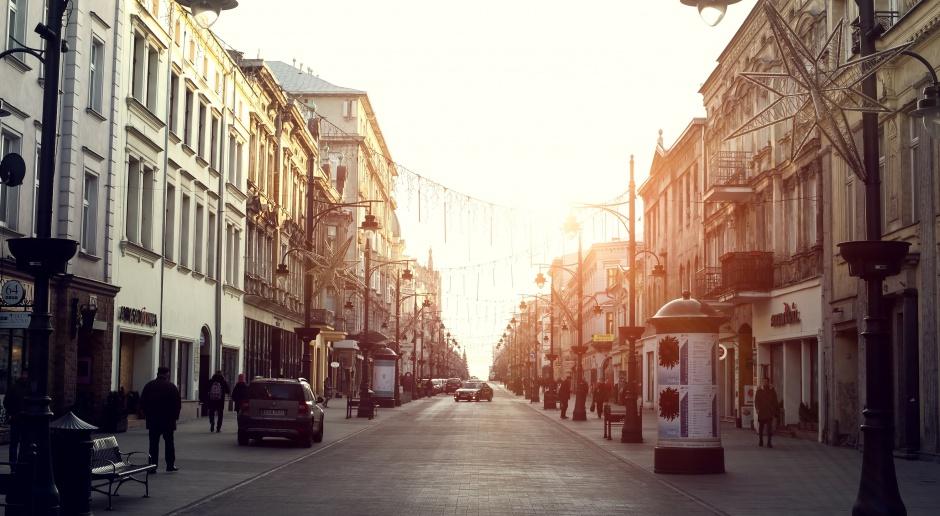 Trwa modernizacja ul. Rewolucji 1905 r. - jednej z ważniejszych w Łodzi