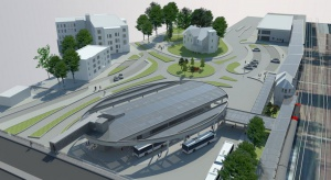 Skanska buduje nowe centrum przesiadkowe w Zielonej Górze