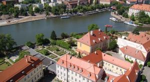 Konkurs na teren nad rzeką Oławą we Wrocławiu