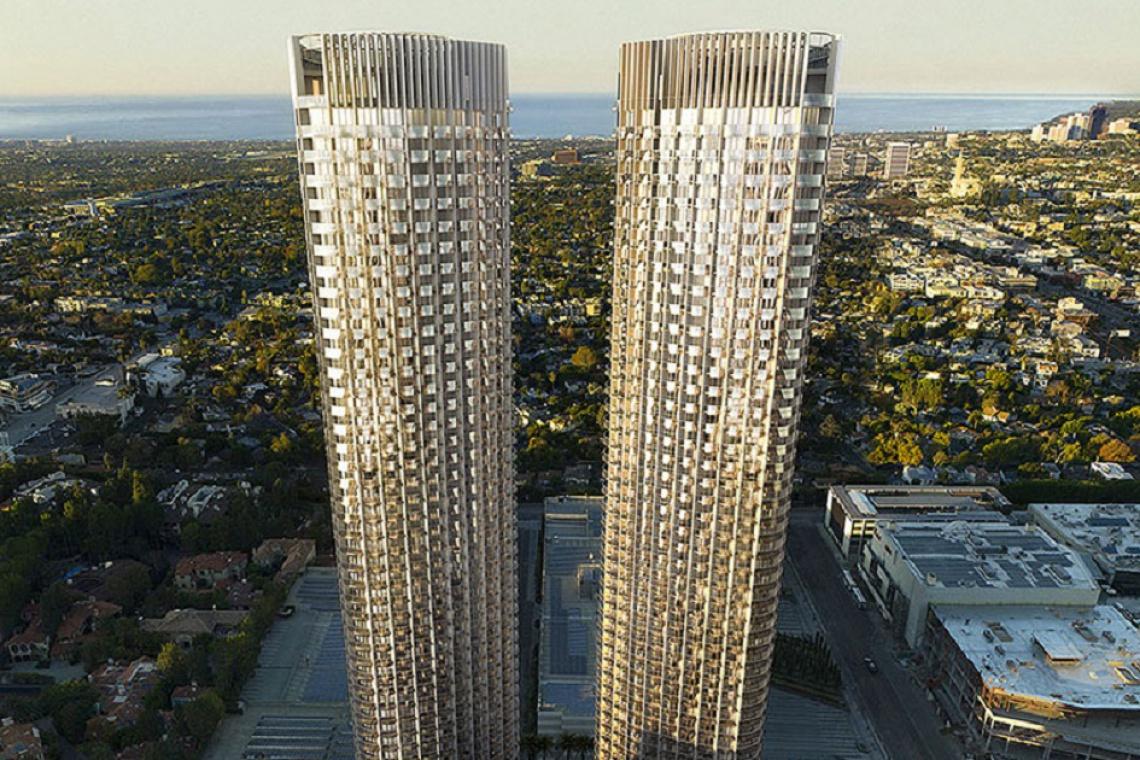 Dwie wieże pełne designu