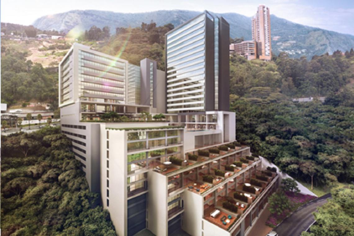 Kaskadowy hotel w sercu dżungli