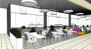 Galeria Tarnovia już wkrótce z designerską strefą restauracyjną