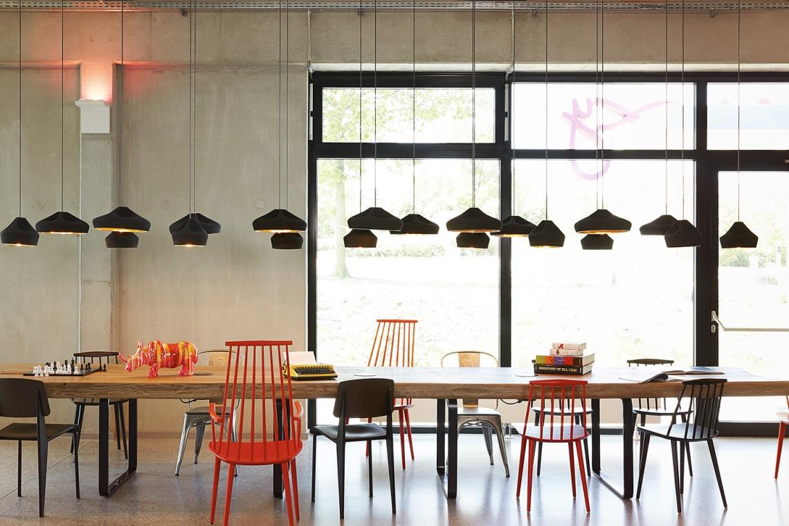 Przestrzenie dla młodych w designerskim hotelu