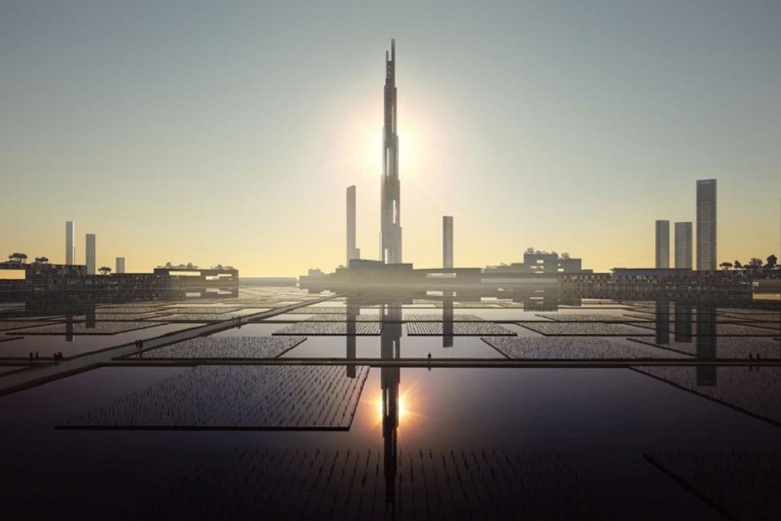 Tak wysoko jeszcze nie budowano. Oto projekt Sky Mile Tower