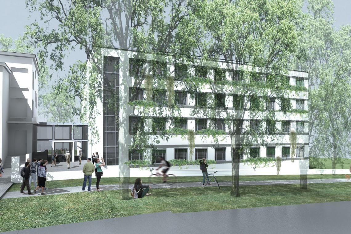 Ruszyła rozbudowa Kolegium Zembala Uniwersytetu Przyrodniczego w Poznaniu