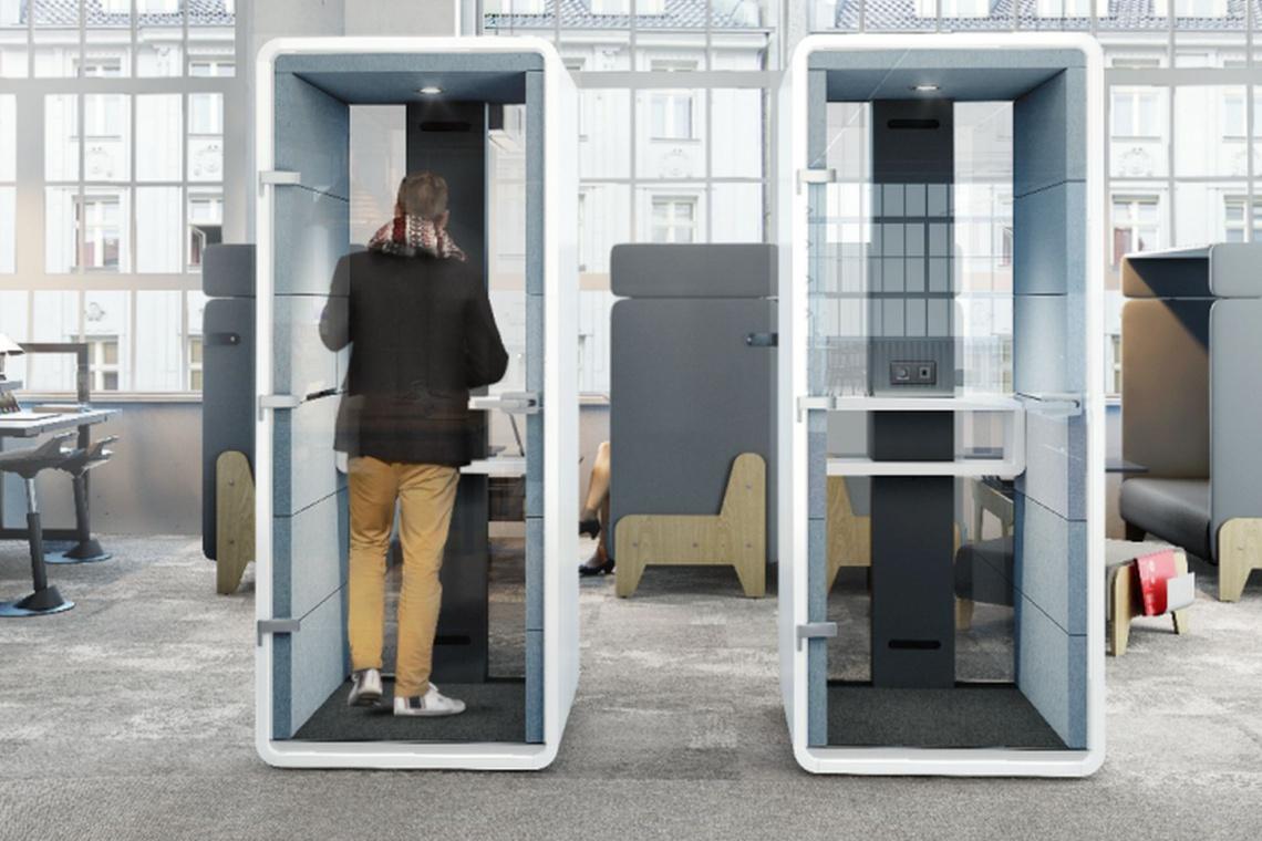 Nudno urządzone open space'y odchodzą do lamusa