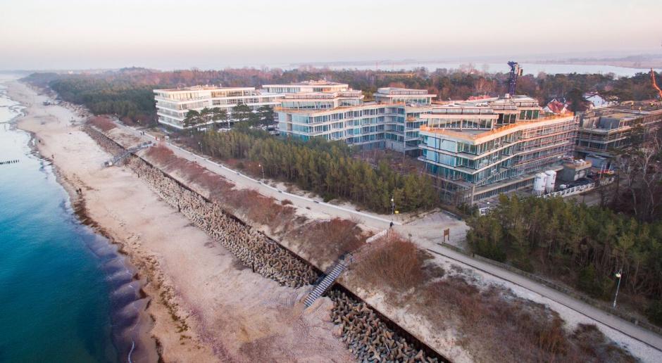 Dune Resort rośnie w siłę. Tak powstaje nowe miasto nad Bałtykiem