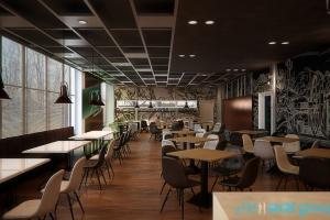 Restauracja przy zabytkowej kopalni - tak będą wyglądać wnętrza