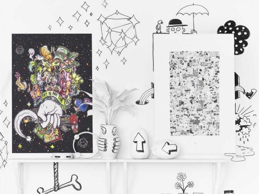 Nowa Limitowana Kolekcja Od Ikea To Plakaty Artystów Z