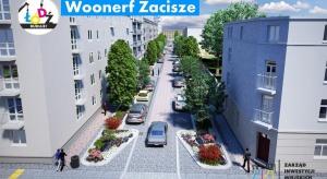 W Łodzi powstał kolejny woonerf