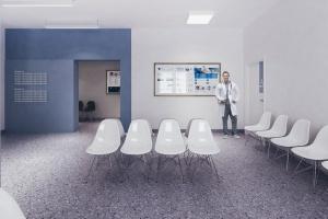 Design dla zdrowia - zobacz projekt dla mieleckiej przychodni