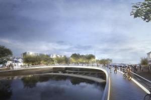 Design otwarty na rzeki. Transformacja przestrzeni w stylu Foster and Partners