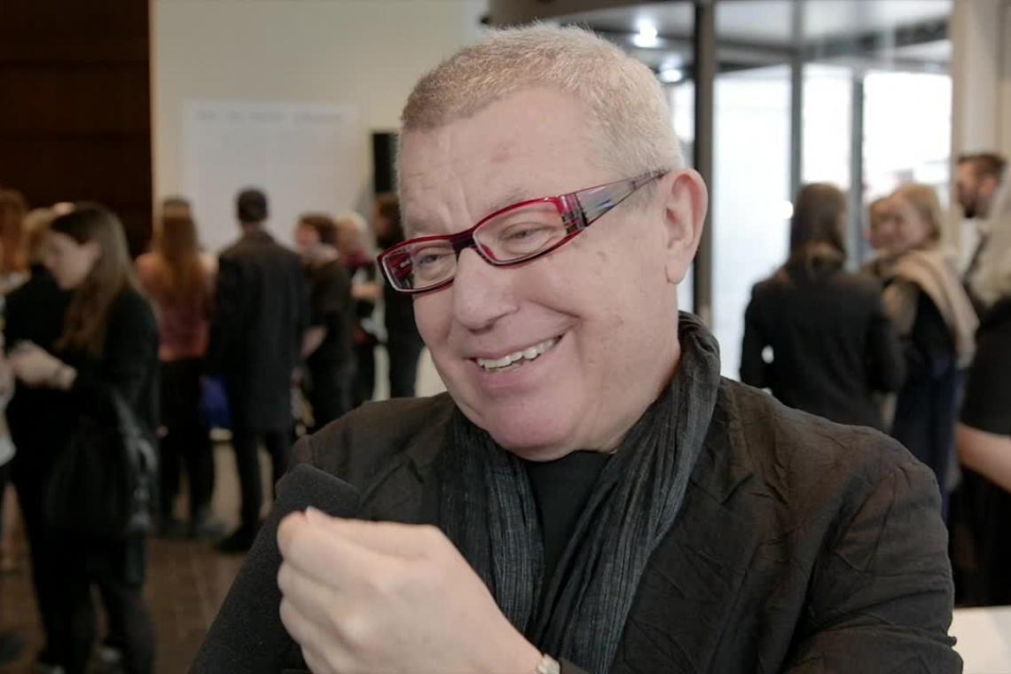 Daniel Libeskind spotkał się z mieszkańcami Łodzi