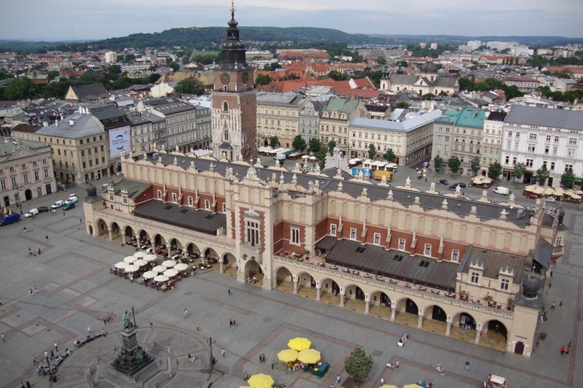 Zobaczyć rozwój urbanistyczny Krakowa