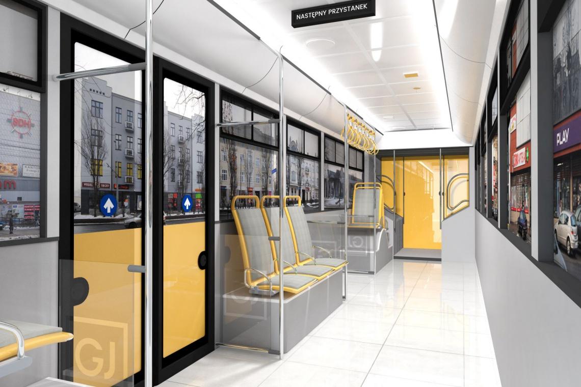 Korytarze jak wnętrze tramwaju. Galeria Jurajska stawia na oryginalność