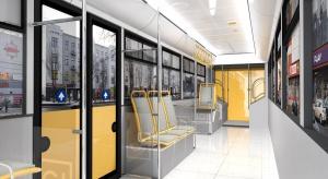 W galerii jak w... tramwaju