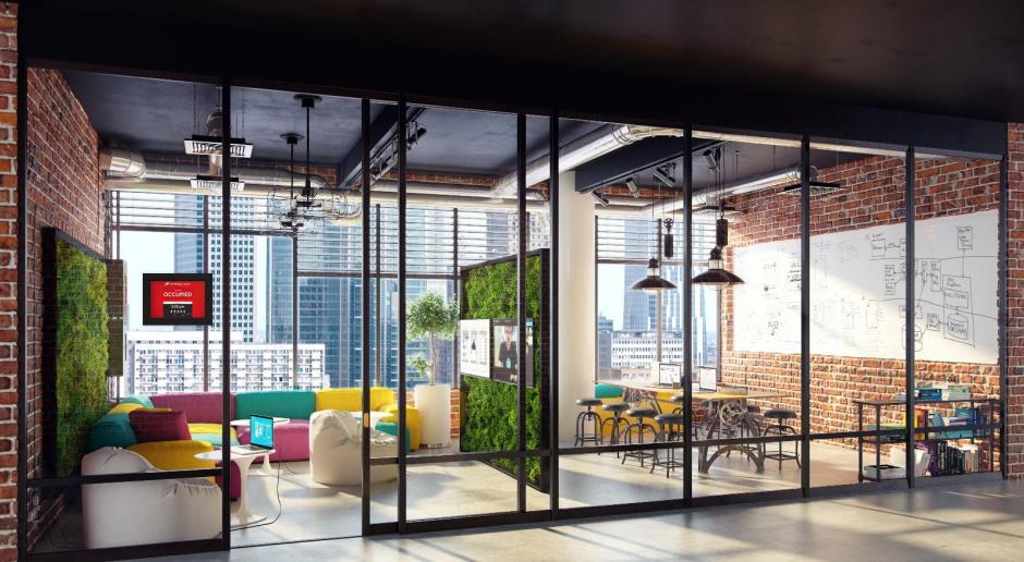 Aranżacja biura pod elastyczny model pracy