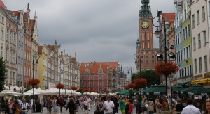 Remont zabytkowego przedproża Ratusza Głównego Miasta